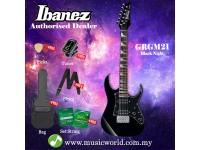 Ibanez RG miKro GRGM21-BKN Black Night Solid Body Electric Guitar (GRGM21)