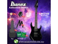 Ibanez GIO GRG7221-BKN Black Night Solid Body Electric Guitar (GRG7221)