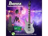 Ibanez Gio GRG255DX-SV Silver Solid Body Electric Guitar (GRG255DX)