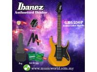 Ibanez  GRG250P-GYM Golden Yellow Metallic Solid Body Electric Guitar (GRG250P)