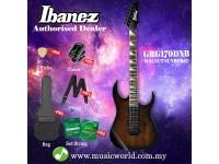 Ibanez GIO GRG170DXB-WNS Walnut Sunburst Night Solid Body Electric Guitar (GRG170DXB)