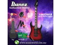 Ibanez GIO GRG170DXB-TRS Transparent Red Sunburst Solid Body Electric Guitar (GRG170DXB)