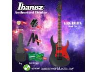 Ibanez GIO GRG131DX-BKF Black Flat Solid Body Electric Guitar (GRG131DX)