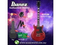 Ibanez GIO GAX30-TCR Transparent Cherry Solid Body Electric Guitar (GAX30)