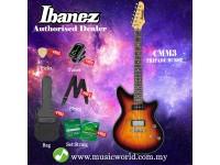 Ibanez CMM CMM3-TFB Tri Fade Burst Solid Body Electric Guitar (CMM3)