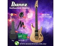 Ibanez EGEN8-PLB Platinum Blonde Solid Body Electric Guitar (EGEN8)