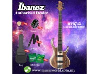Ibanez  BTB745-NTL Natural Low Gloss 5-string Electric Bass Guitar (BTB745)