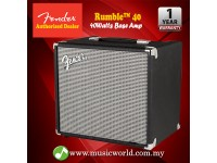 Fender Rumble 40 V3 40-watt Amp 1x10 Guitar Bass Combo Amplifier Speaker