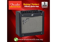 "Fender Mustang I V2 1X8"" Modeling Electric Guitar Combo Amplifier With Effect Black (Mustang 1)"