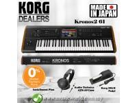 Korg KRONOS 2 61 key Synthesizer Workstation Keyboard Piano (KRONOS2 / Kronos2-61)