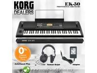 Korg EK-50 Digital Entertainer Keyboard Electronic Piano Professional Arranger (EK50)