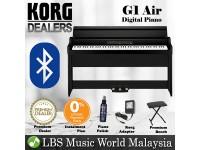 Korg G1 Air 88 Keys Digital Home Piano with Bluetooth Black (G-1)