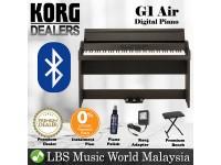 Korg G1 Air 88 Keys Digital Home Piano with Bluetooth Brown (G-1)