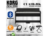 Korg C1 Air 88 Keys Digital Piano with Bluetooth Black (C-1)
