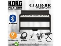 Korg C1 Air 88 Keys Digital Piano with Bluetooth Brown (C-1)