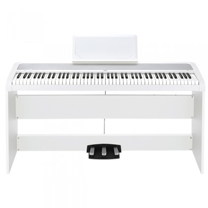 Korg B1SP 88 Key Digital Piano White Electric Keyboard Piano (B1 SP / B1-SP)
