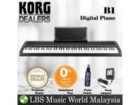 Korg B1 88 Keys Digital Piano Black (B-1)