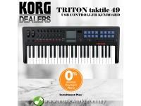 Korg TRTK49 USB MIDI Controller Keyboard Synthesizer with TRITON Engine