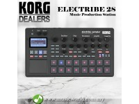 Korg Electribe 2S Sampler Music Production Station Midi Controller Black (Electribe2s)