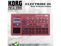 Korg Electribe 2S Sampler Music Production Station Midi Controller Red
