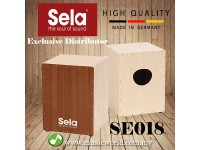 Sela SE 018 Medium Snare Cajon Kit Instructions Box Drum Percussion (SE018)