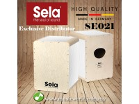 Sela SE 021 Wave Special Coated Birch Body Professional Snare Cajon White Pearl (SE021)
