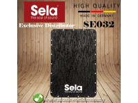 Sela SE 032 Black Pearl Splash playing surface CaSela Wave cajon *Surface Only (SE032)