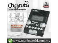 Cherub WRW-106 Rhythm Machine Digital Metronome Voice Counting / Tap Tempo Drum Piano Guitar Violin (WRW106)
