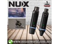 NUX B-3 Wireless Snap on Microphone System Wire Mic to Wireless Converter (B3)