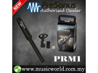 PreSonus PRM1 Precision Condenser Mic Reference Measurement Microphone Omnidirectional for Real Time Analysis (PRM 1)