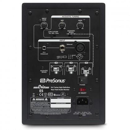"""PreSonus Eris E5 5.25"""" Professional Powered Multimedia Studio Monitor Speaker Cabinet Pair (E 5)"""