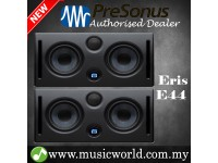 "PreSonus Eris E44 Dual 4.5"" Professional Powered Multimedia Studio Monitor Speaker Cabinet Pair (E 44)"