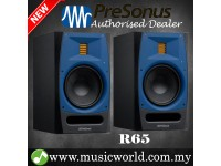 "PreSonus R65 6.5"" AMT Professional Powered Multimedia Studio Monitor Speaker Cabinet Pair with 6.8"" AMT Tweeter (R 65)"