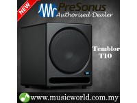"PreSonus Temblor T10 10"" Powered Studio Active Subwoofer Studio Monitor Speaker Cabinet with built in crossover (T 10)"