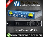 PreSonus BlueTube DP V2 2-channel Microphone and Instrument Preamplifier (Blue Tube / DPV2 / DP-V2)