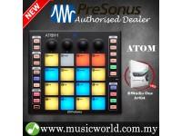 PreSonus ATOM Pad Midi Controller 16 Pressure Sensitive Pads USB 2.0 Connectivity For Mac and PC