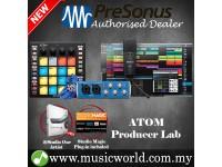 PreSonus ATOM Pad Producer Lab With Atom Pad Midi Controller, AudioBox USB 96 Audio Interface, M7 Condenser Microphone