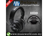 Presonus HD9 Professional Monitoring Headphones Over-Ear Personal Monitor Closed Back (HD 9)