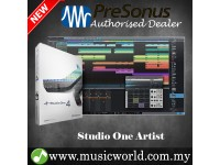 PreSonus Studio One 4 Artist DAW Software with Unlimited Tracks Plug-in Suite (download)