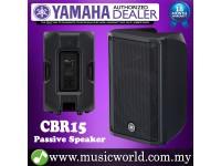 "Yamaha CBR15 1000W 15"" 2-way Passive Speaker Loudspeaker Amplifier PA (CBR 15)"