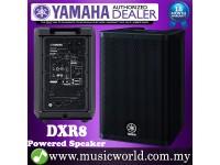 "Yamaha DXR8 1100W 8"" Powered Speaker with 700W 2-way Operation Loudspeaker for PA (DXR 8)"