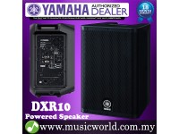 "Yamaha DXR10 1100W 10"" Powered Speaker with 700W 2-way Operation Loudspeaker for PA (DXR 10)"