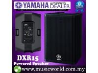 "Yamaha DXR15 1100W 15"" Powered Speaker with 700W 2-way Operation Loudspeaker for PA (DXR 15)"