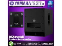 "Yamaha DXS15 mkII 15"" Active Powered Subwoofer Loudspeaker Speaker 800W PA (DXS 15)"