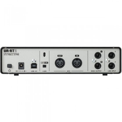 Yamaha Steinberg UR-RT2 2-channel USB Audio Interface with 2 Rupert Neve Transformers Included Software (UR RT2)
