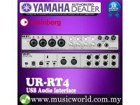 Yamaha Steinberg UR-RT4 4-channel USB Audio Interface with 4 Rupert Neve Transformers Included Software (UR RT4)