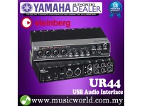 Yamaha Steinberg UR44 6 x 4 Audio Interface with 4 Class Preamps and Cubase AI Software * Indent Basis