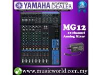 Yamaha MG12 Mixer 12-channel Stereo Analog Mixing Console Mixers (MG 12)