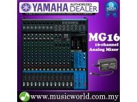 Yamaha MG16 Mixer 16-channel Stereo Analog Mixing Console Mixers (MG 16)