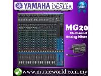 Yamaha MG20 Mixer 20-channel Stereo Analog Mixing Console Mixers (MG 20)